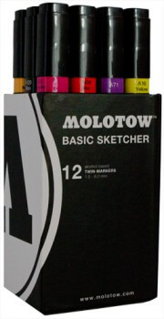 Molotow Marker 12er Basis Box