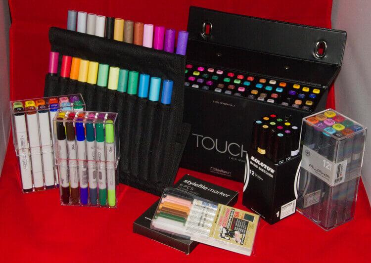 Welches Farbset soll ich nehmen (Marker, Polychromos, Aquarell etc.)?