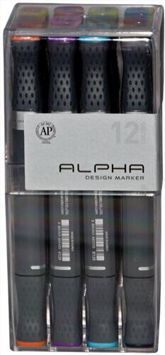 Alphamarker 12er Set