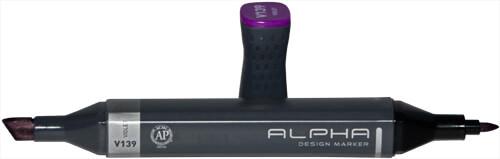 Einzelner Alpha Design Marker