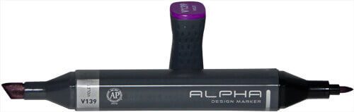 Illustrations- und Layout Marker: Alpha Design Marker von Alphacolor
