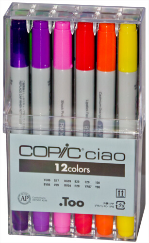 Copic Ciao Box