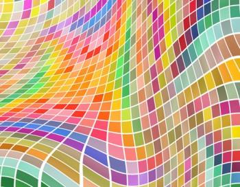 Kunst in Farben und Formen