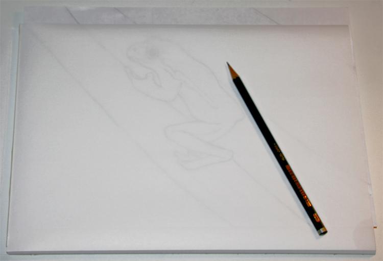 Zeichnung abpausen