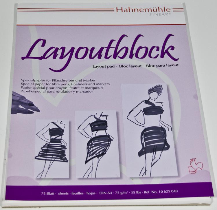 Foto: Hahnemühle 75g Layoutpapier