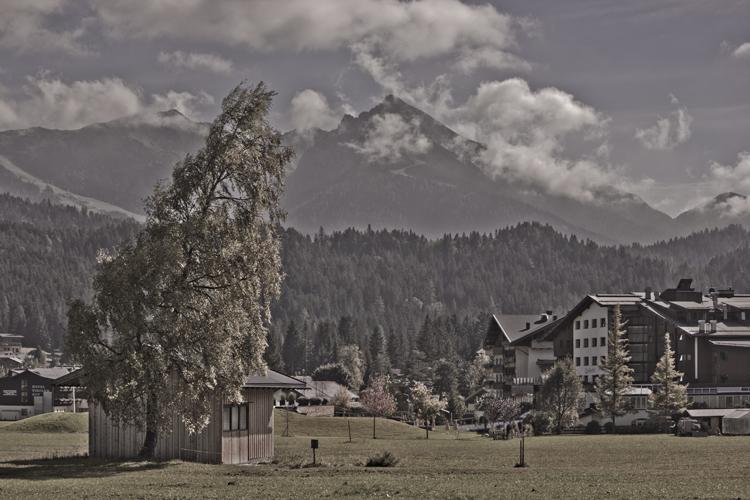 Foto: Berglandschaft - RAW in Photoshop bearbeitet