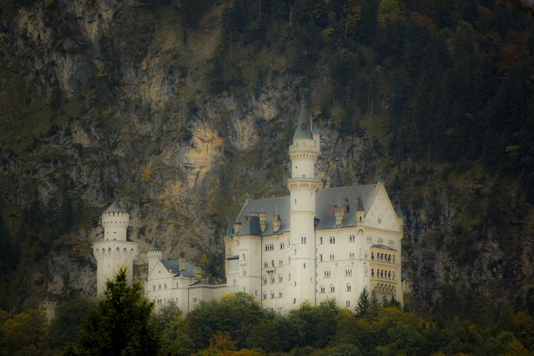 Foto: Schloss Neuschwanstein - Bearbeitet