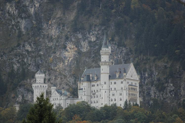 Foto: Schloss Neuschwanstein - Original