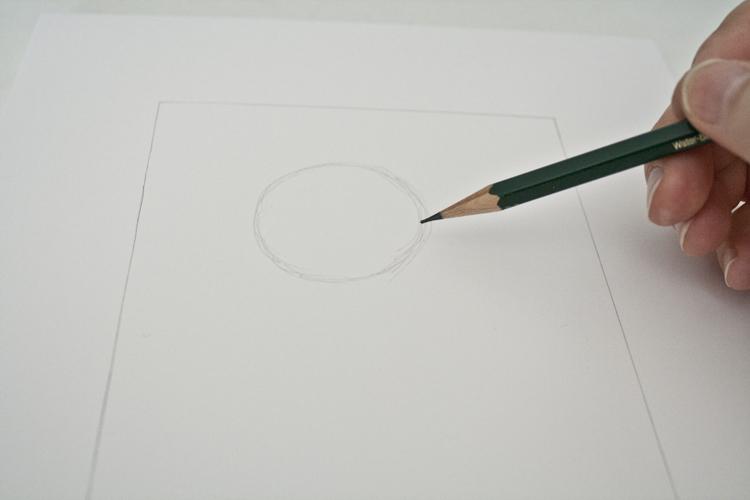Comicmaus zeichnen Schritt 1