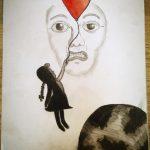 Zeichnung: Yasemin K.,13 Jahre