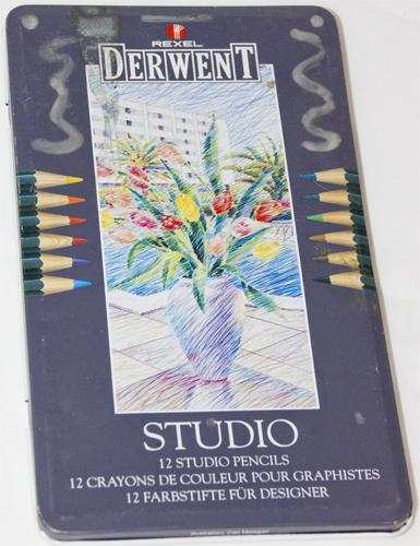 Buntstifte: DerWENT Studio
