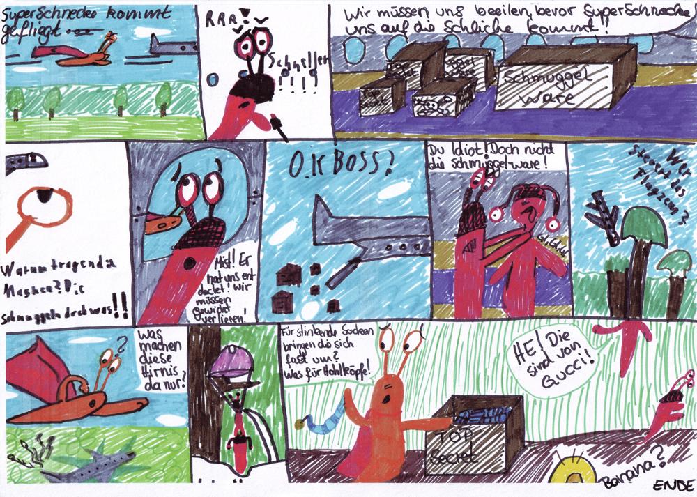 Comic: Superschnecke