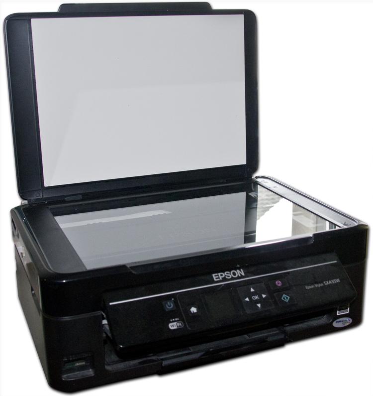 Bilder einscannen mit Epson Scanner & Drucker in einem