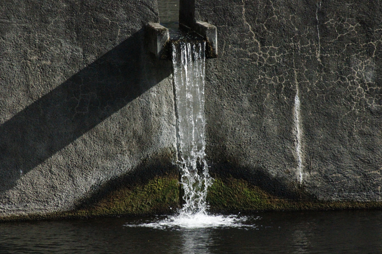 Original Foto Wasserfall