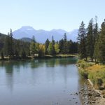 Rocky Mountain Fluss - Vorlage