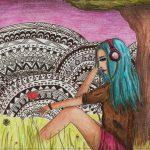 Zeichnung: Deborah L. 15 Jahre