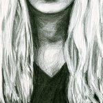 Zeichnung: Elisabeth B., 15 Jahre