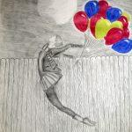 Zeichnung: Franziska H., 15 Jahre