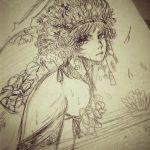 Zeichnung: Jessica F. T., 19 Jahre