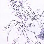 Zeichnung: Julia Y., 9 Jahre