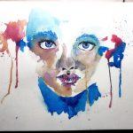 Zeichnung: Marina G., 16 Jahre