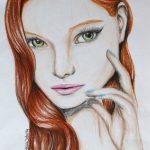Zeichnung: Saskia K., 16 Jahre