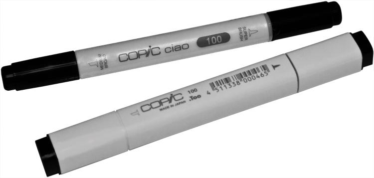 Illustrations- und Layout Marker: Copic und Copic Ciao