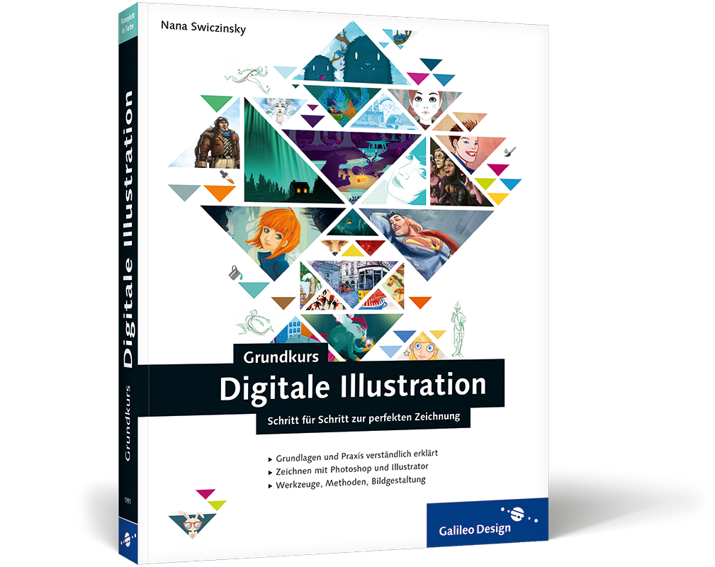 Buchvorstellung: Grundkurs Digitale Illustration