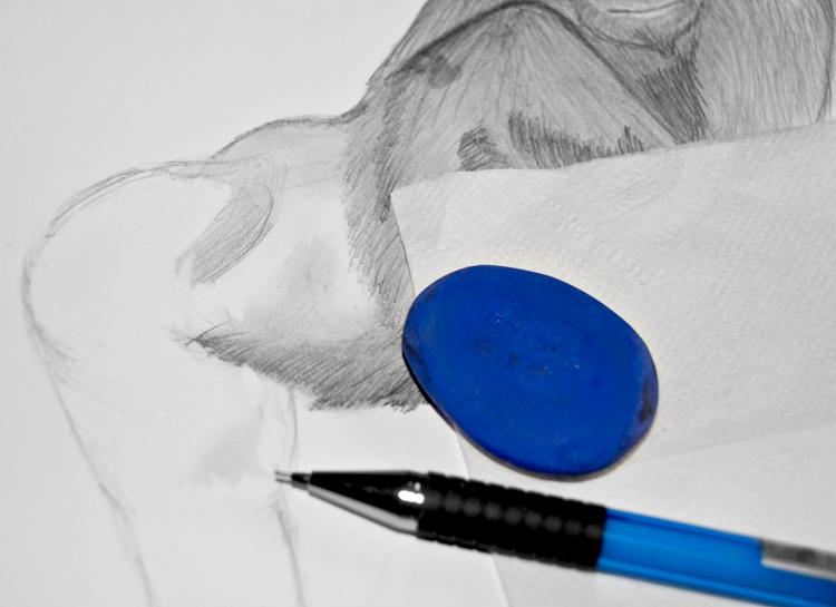 Gorilla zeichnen - Schritt 7