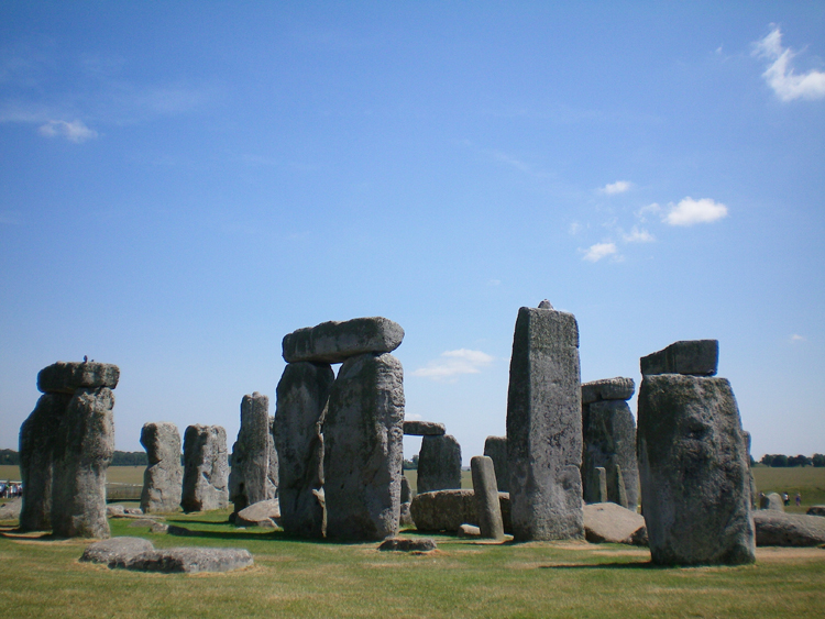Stone Henge - Vorlage