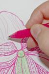Zeichnen mit Frixion Tintenroller