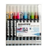 Amazon: Molotow Grafx Aqua Ink Pump Softliner - 10er