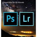 Amazon: Adobe Creative Cloud Foto-Abo mit 20GB: Photoshop CC und Lightroom CC | 1 Jahreslizenz | PC/Mac | Key Card & Download