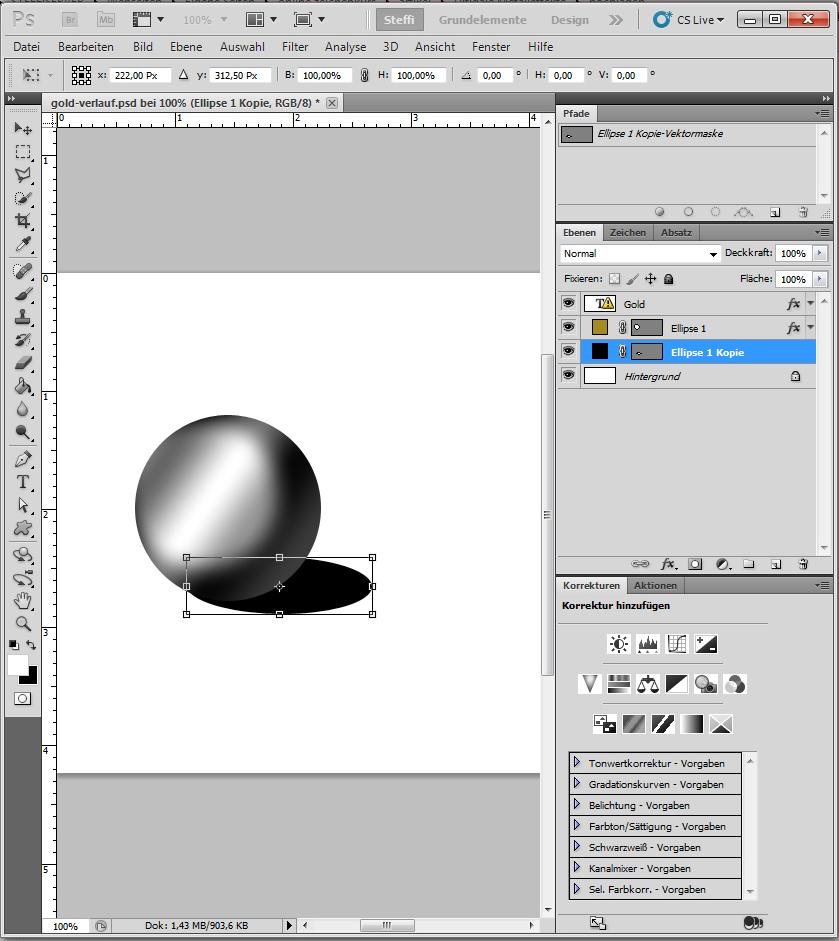 Metalleffekt Silber 4