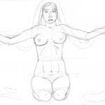 Von der Skizze bis zum fertigen Bild – Aktzeichnung (Teil 1)