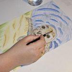 Seehund Zeichnung: Aquarellbuntstift aquarellieren 2
