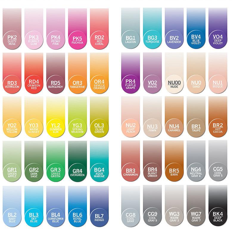 Chameleon Color Tones - 52 Farben