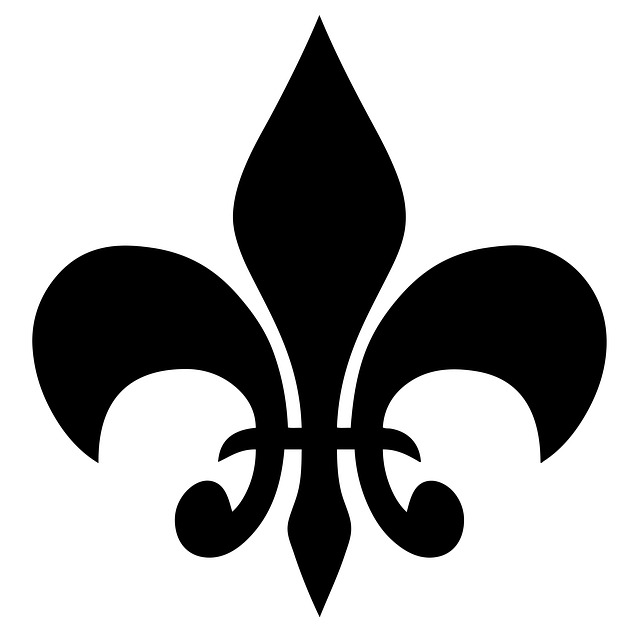 schwarze Französische Lilie