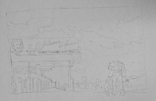 Fallout 4 Zeichnung 1