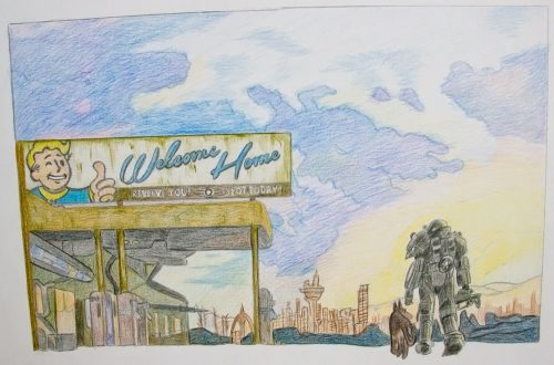 Fallout 4 Zeichnung 10