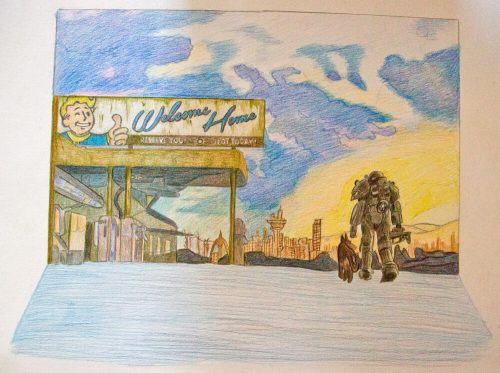 Fallout 4 Zeichnung 11