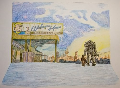 Fallout 4 Zeichnung 12