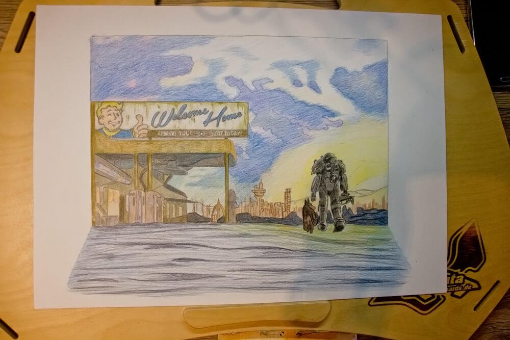 Fallout 4 Zeichnung 13