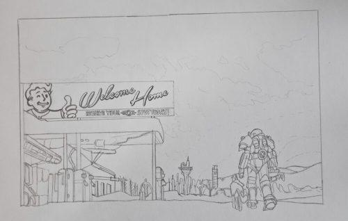 Fallout 4 Zeichnung 2