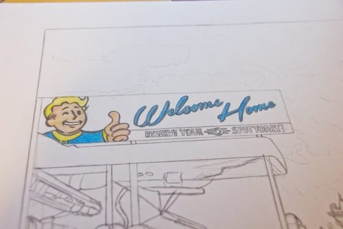 Fallout 4 Zeichnung 3