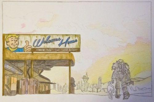 Fallout 4 Zeichnung 6