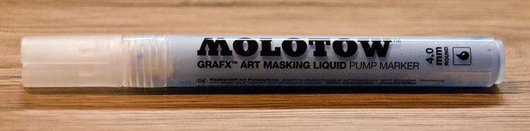 Molotow Masking Liquid Pump Marker