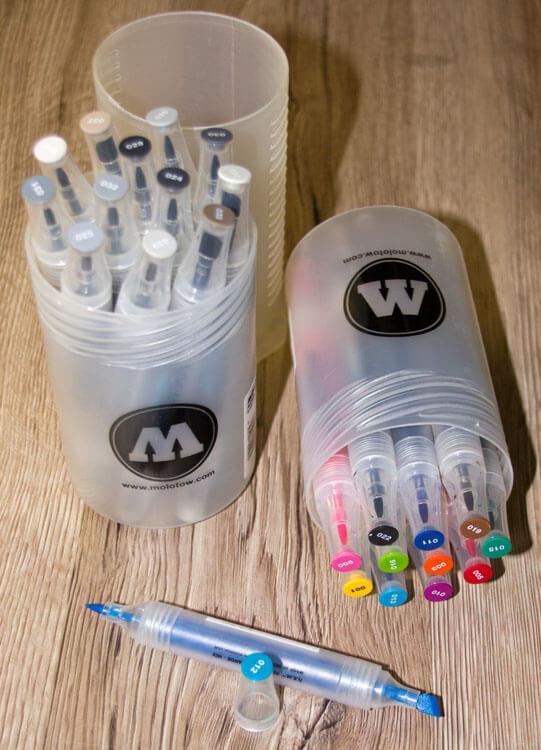 Aqua Twin Marker Aufbewahrungsdose