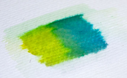 Aqua Twin Farben mischen