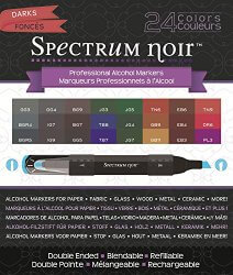 Amazon: Crafter's Companion Spectrum Noir Darks 24 Set